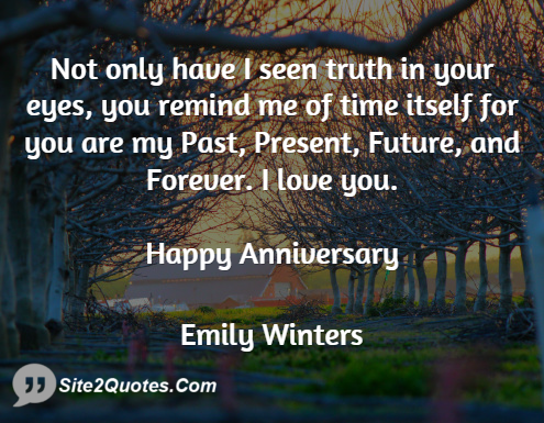 Anniversary Quotes - Emily Winters