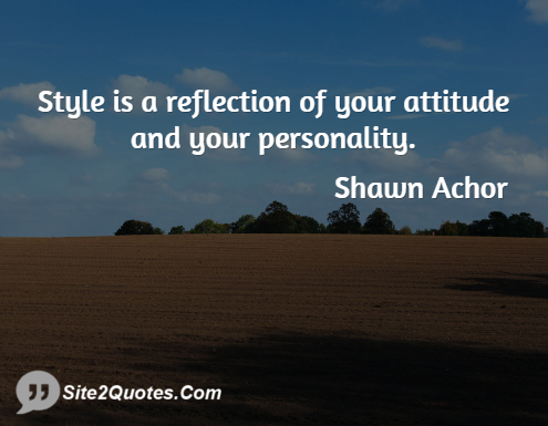 Attitude Quotes - Shawn Achor