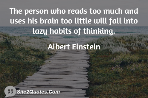 Best Quotes - Albert Einstein