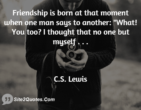Best Quotes - C.S. Lewis