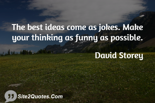 Best Quotes - David Storey