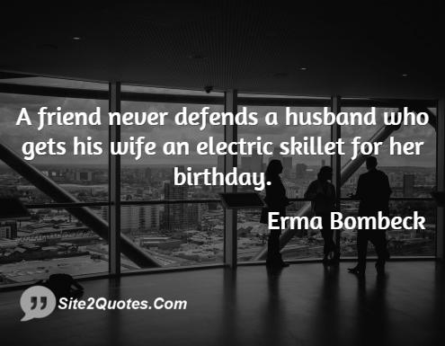 Birthday Wishes - Erma Bombeck