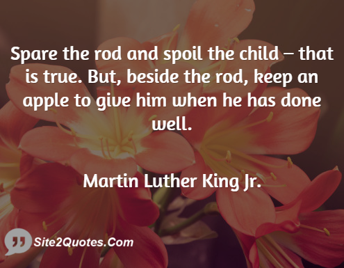 Family Quotes - Martin Luther King Jr.