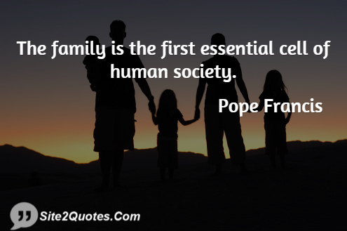 Importance Of Family Quotes Amazing ANALYSIS Strong Families Strong Society Studies Confirm