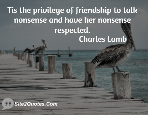 Friendship Quotes - Charles Lamb