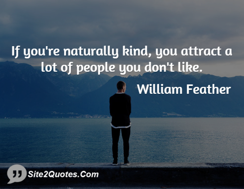 Funny Quotes - William Feather