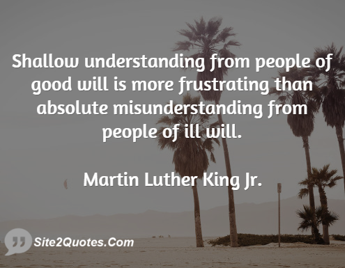 Martin Luther King Jr Quote On Good People