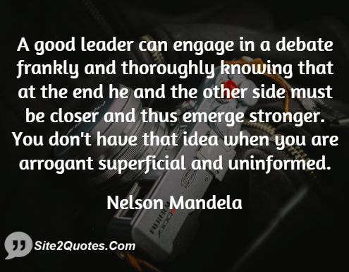 Good Quotes - Nelson Mandela