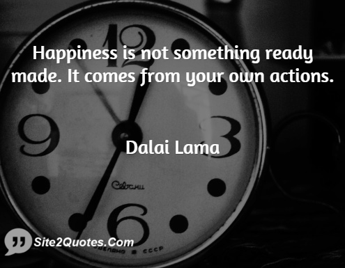 Happiness Quotes - Dalai Lama
