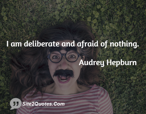 Inspirational Quotes From Audrey Hepburn