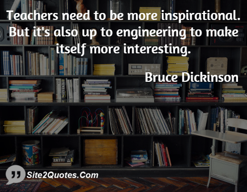 Inspirational Quotes - Paul Bruce Dickinson