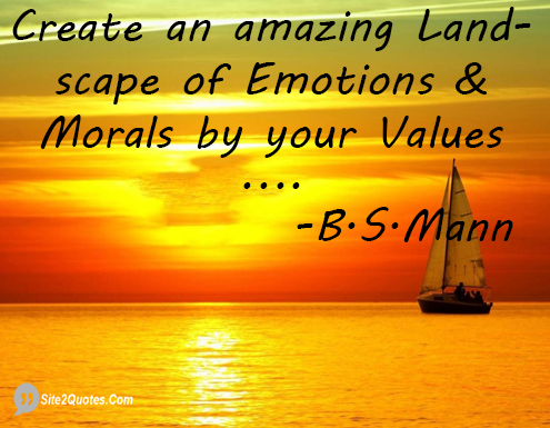 Inspirational Quotes - B.S.Mann