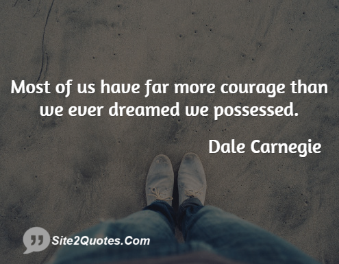 Inspirational Quotes - Dale Carnegie