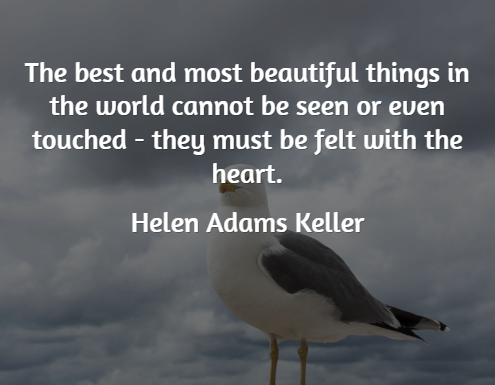 Inspirational Quotes - Helen Adams Keller