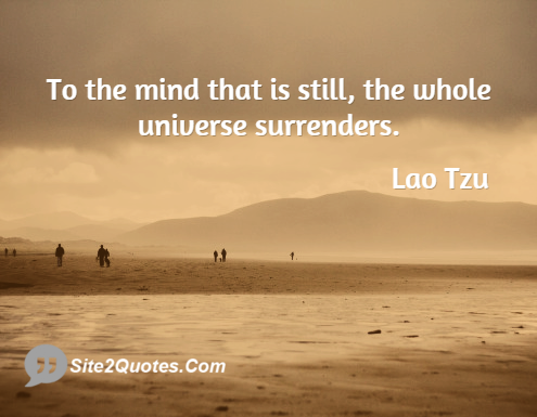 Inspirational Quotes - Lao Tzu