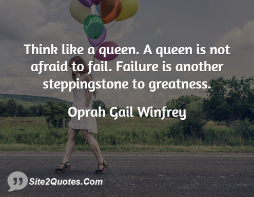 Inspirational Quotes - Oprah Gail Winfrey
