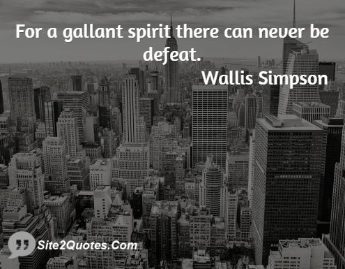 Inspirational Quotes - Wallis Simpson
