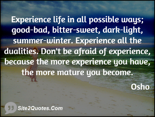 Life Quotes - Osho