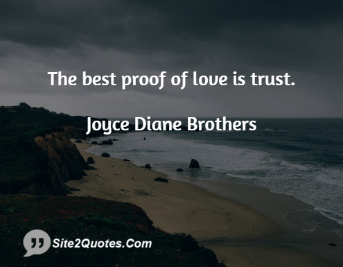 Love Quotes - Joyce Diane Brothers