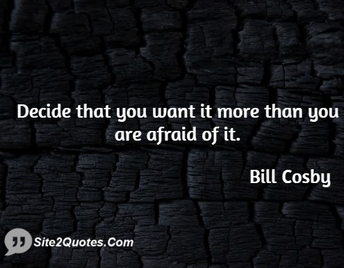 Motivational Quotes - Bill Cosby