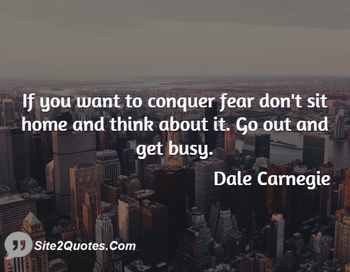 Motivational Quotes - Dale Carnegie