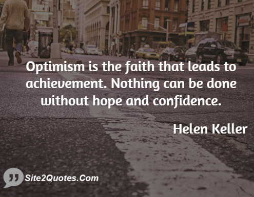 Motivational Quotes - Helen Adams Keller