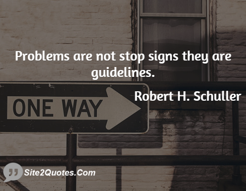 Motivational Quotes - Robert H. Schuller