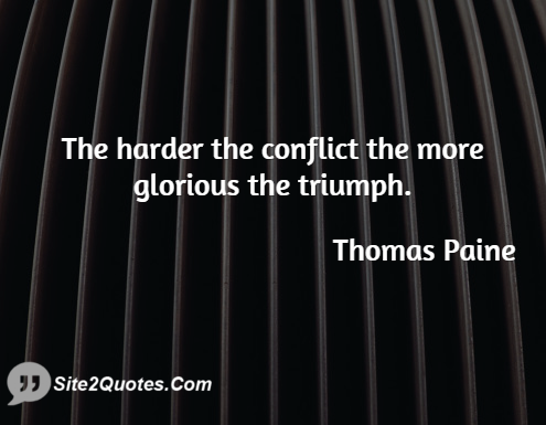 Motivational Quotes - Thomas Paine