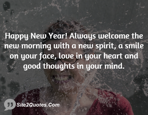 New Year Wishes - Site2Quote
