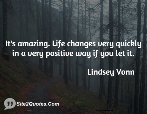 Positive Quotes - Lindsey Vonn