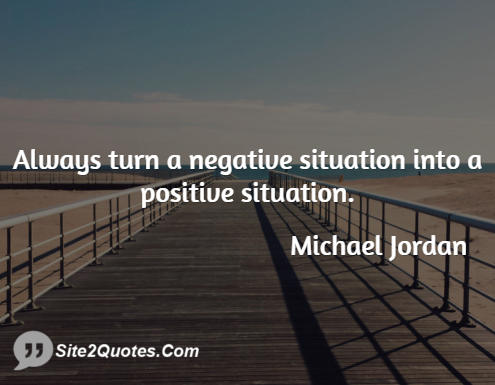 Positive Quotes - Michael Jordan