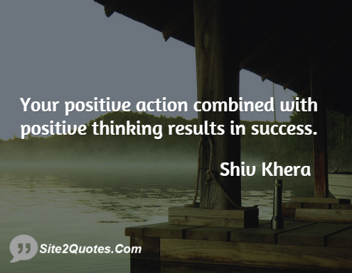 Positive Quotes - Shiv Khera