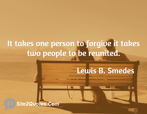 Relationship Quotes - Lewis B. Smedes