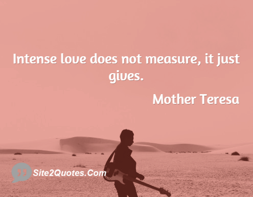 Relationship Quotes - Mother Teresa