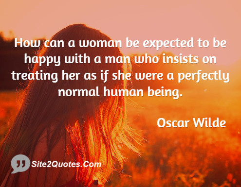 Relationship Quotes - Oscar Wilde