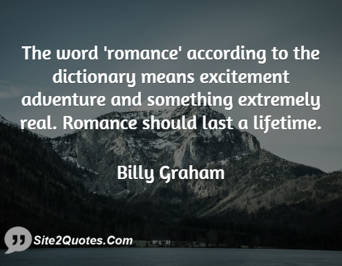 the word romance according to the dictionary means