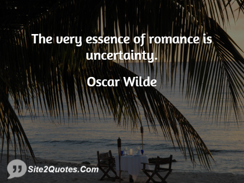 Romantic Quotes - Oscar Wilde