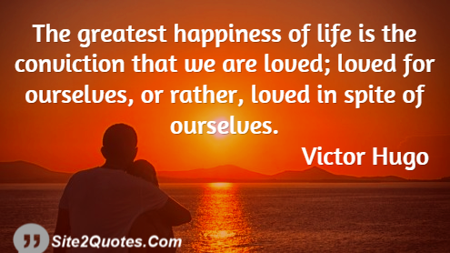Romantic Quotes - Victor Hugo