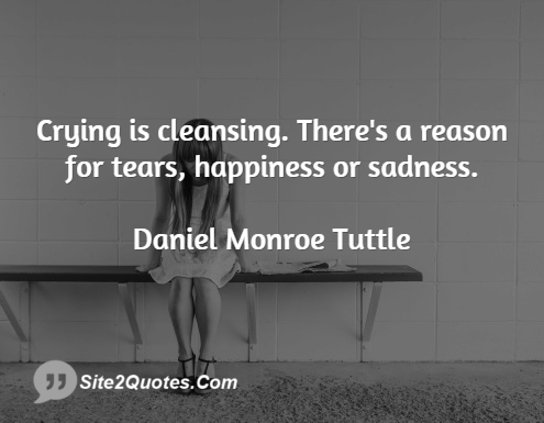 Sad Quotes - Daniel Monroe Tuttle