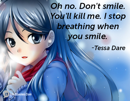 Smile Quotes -  Tessa Dare