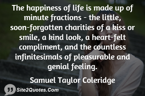 Smile Quotes - Samuel Taylor Coleridge