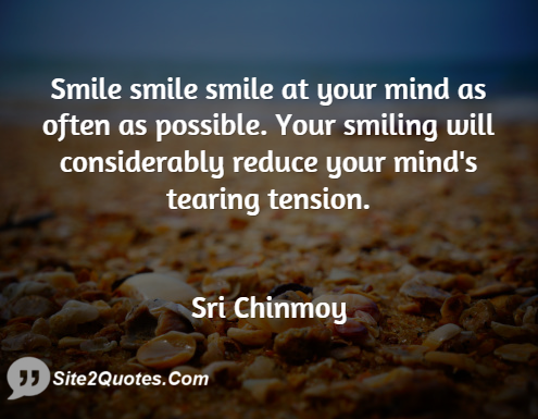 Smile Quotes - Chinmoy Kumar Ghose