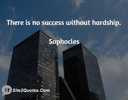 Quote There Is No Success without Failure