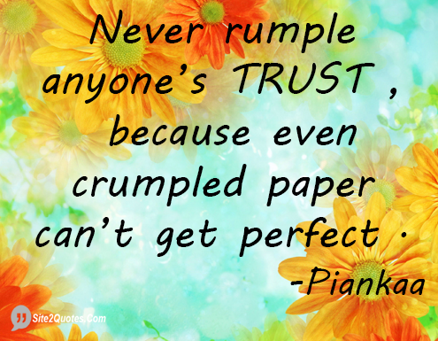 Trust Quotes - Piankaa