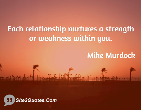 Relationship Quotes - Michael Dean Murdock