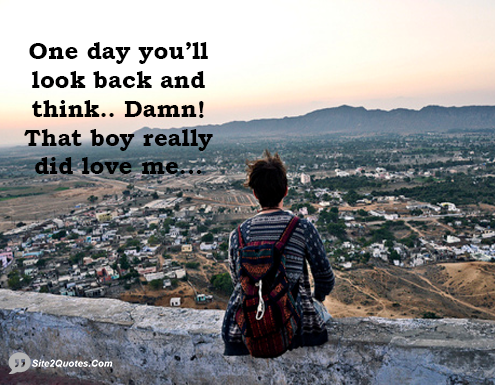 One Day You Will Look Back and Think - Relationship Quotes - Site2Quote