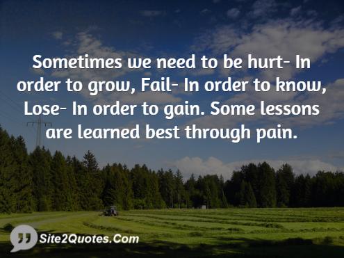 Sad Quotes - Site2Quote
