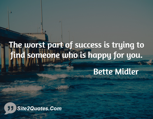 Friendship Quotes - Bette Midler