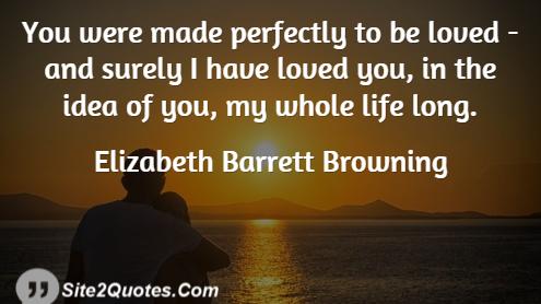 Anniversary Quotes - Elizabeth Barrett Browning