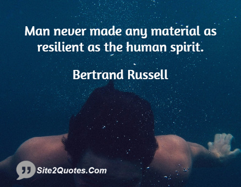 Inspirational Quotes - Bertrand Russell